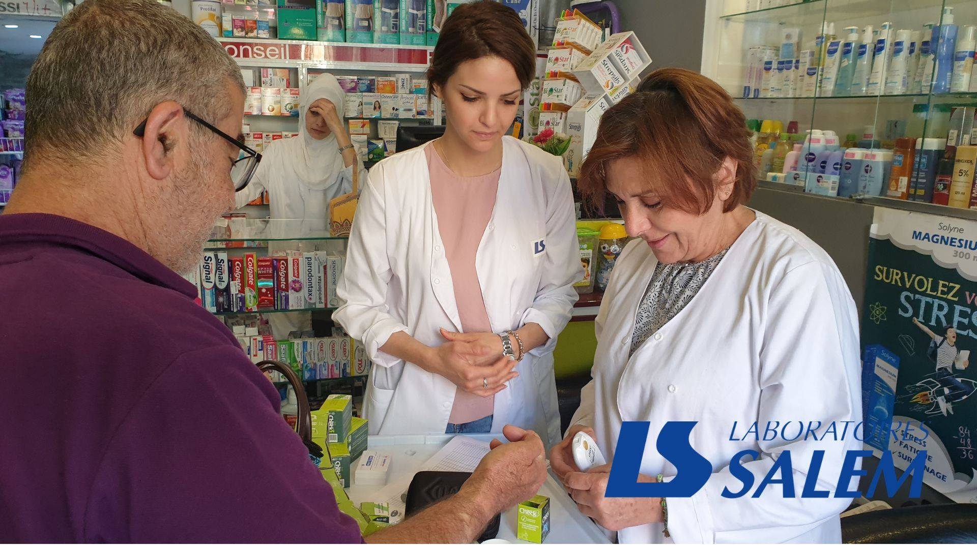 Laboratoires SALEM à la Pharmacie Helis