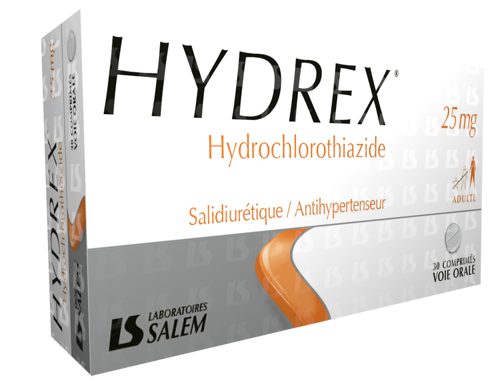 hydrex, hydrex 25 mg, labosalem, laboratories salem, médicament