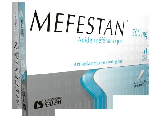 Mefestan 125 et 500 mg