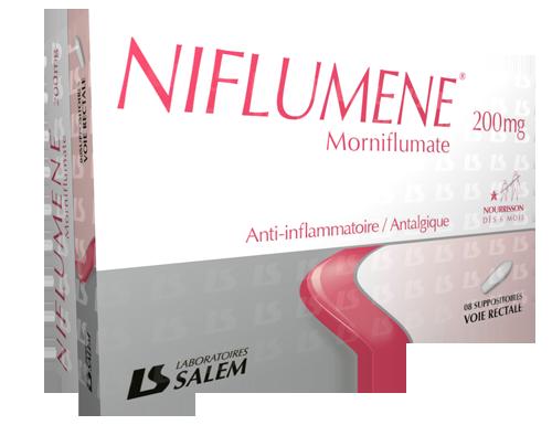 Niflumene 200, 400 et 700 mg