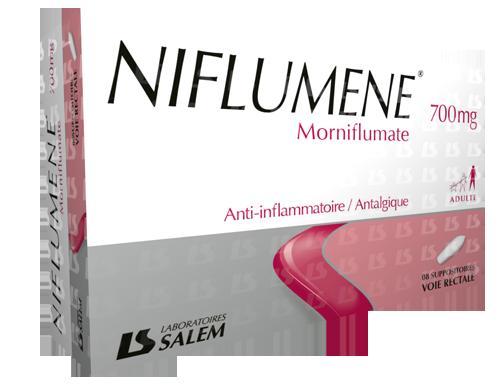 niflumene, niflumene 700, labosalem, laboratories salem, médicament