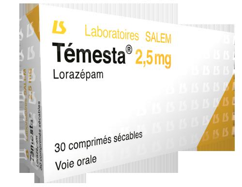 Témesta 2,5 mg