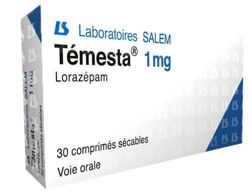 temesta, temesta 1 mg, labosalem, laboratories salem, médicament
