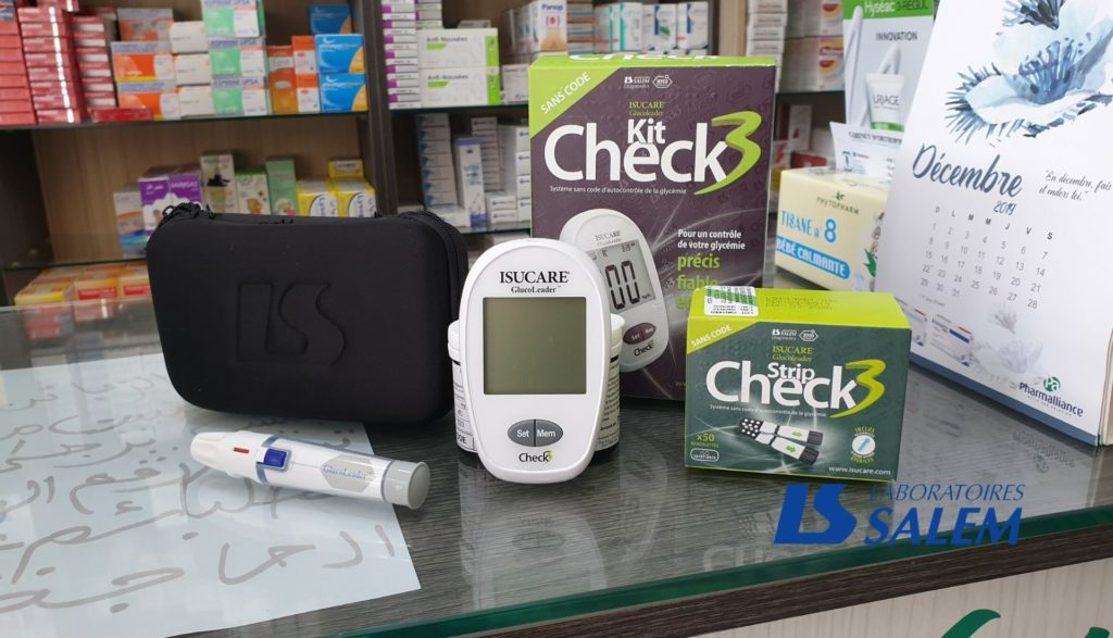 pharmacie, santé, diabète, glycémie, tipaza, laboratories salem, laboratories salem diagnostics