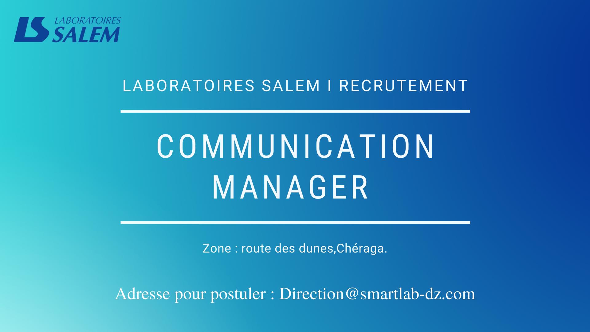 recrutement, labosalem, communication, marketing, métier,emploi, salaire, entreprise, carrière