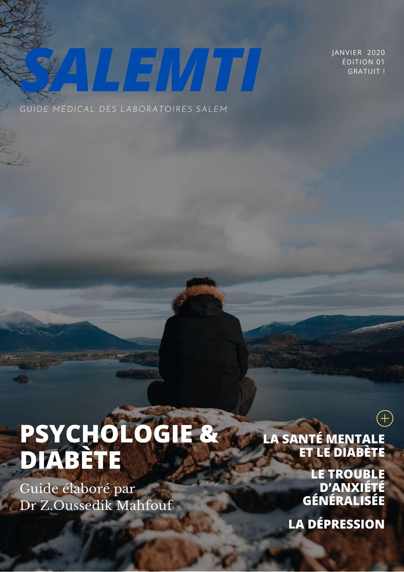 guide des laboratoires salem, salemti guide, guide diabète , guide diabete, guide psychologie, guide depression, guide anxiete, guide psychologie et diabete