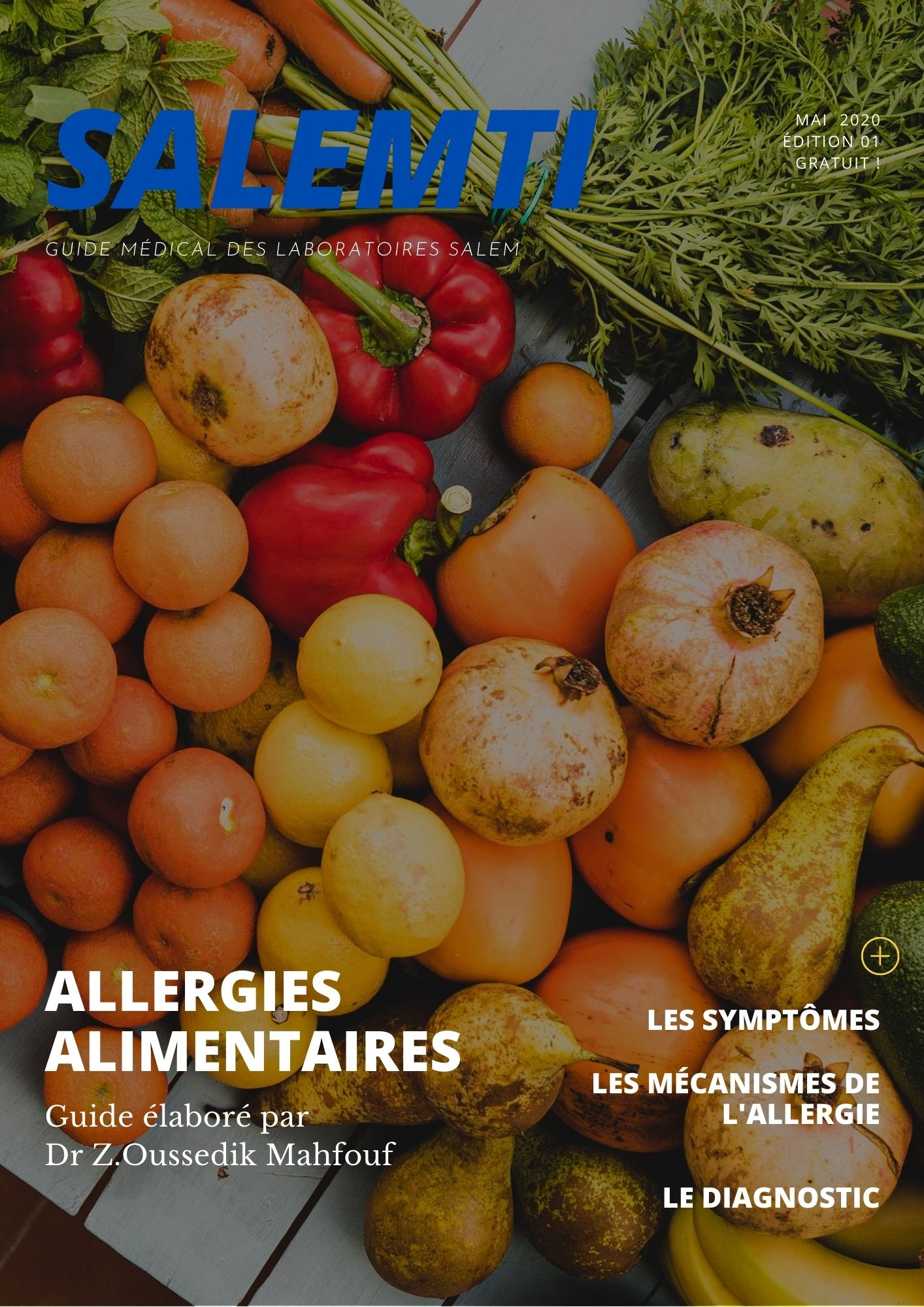 allergie, allergies alimentaires, intoxication, guide, guide santé, guide laboratoires salem, guide labosalem,guide salemti