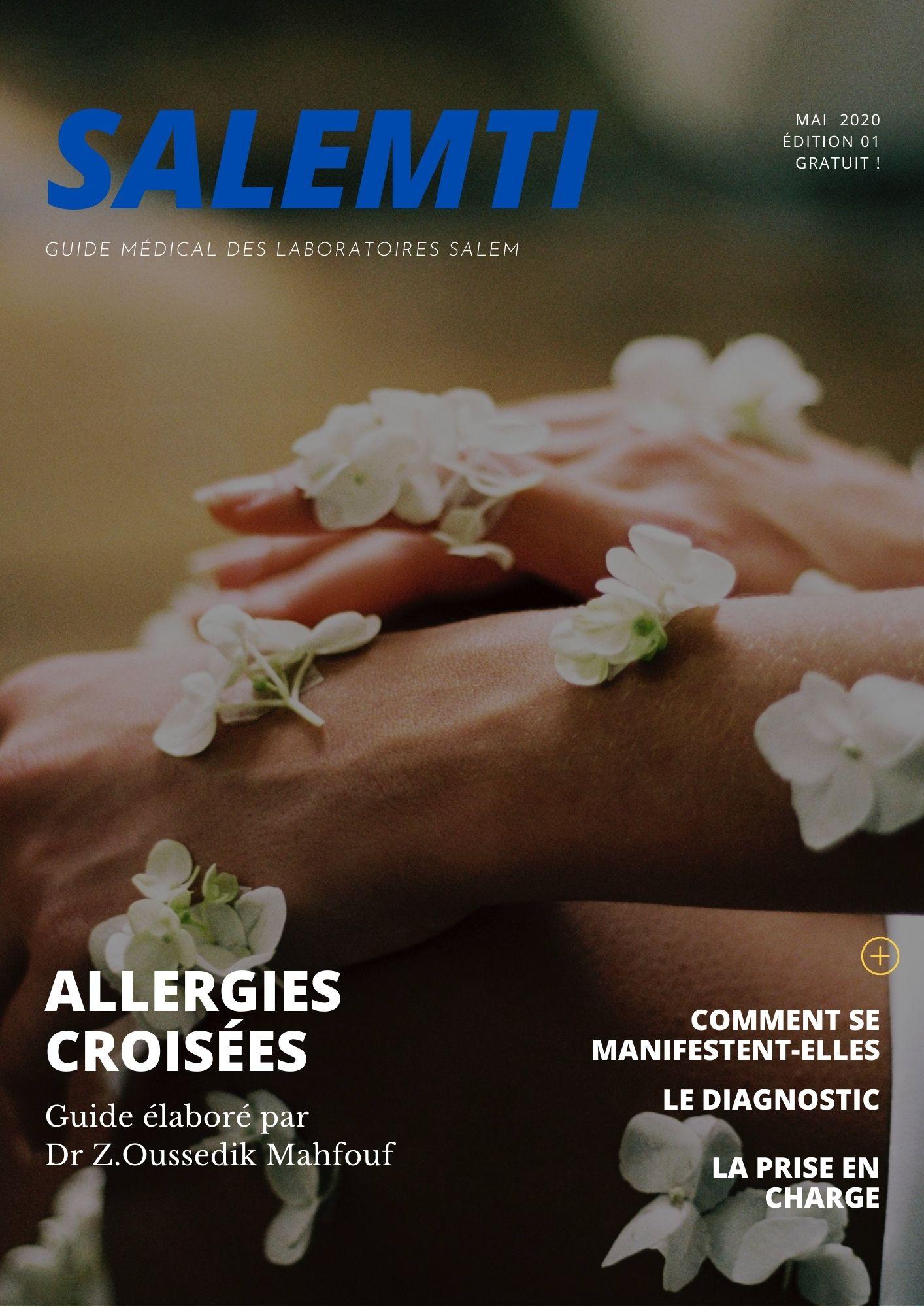 allergie, allergies croisées, intoxication, guide, guide santé, guide laboratoires salem, guide labosalem,guide salemti