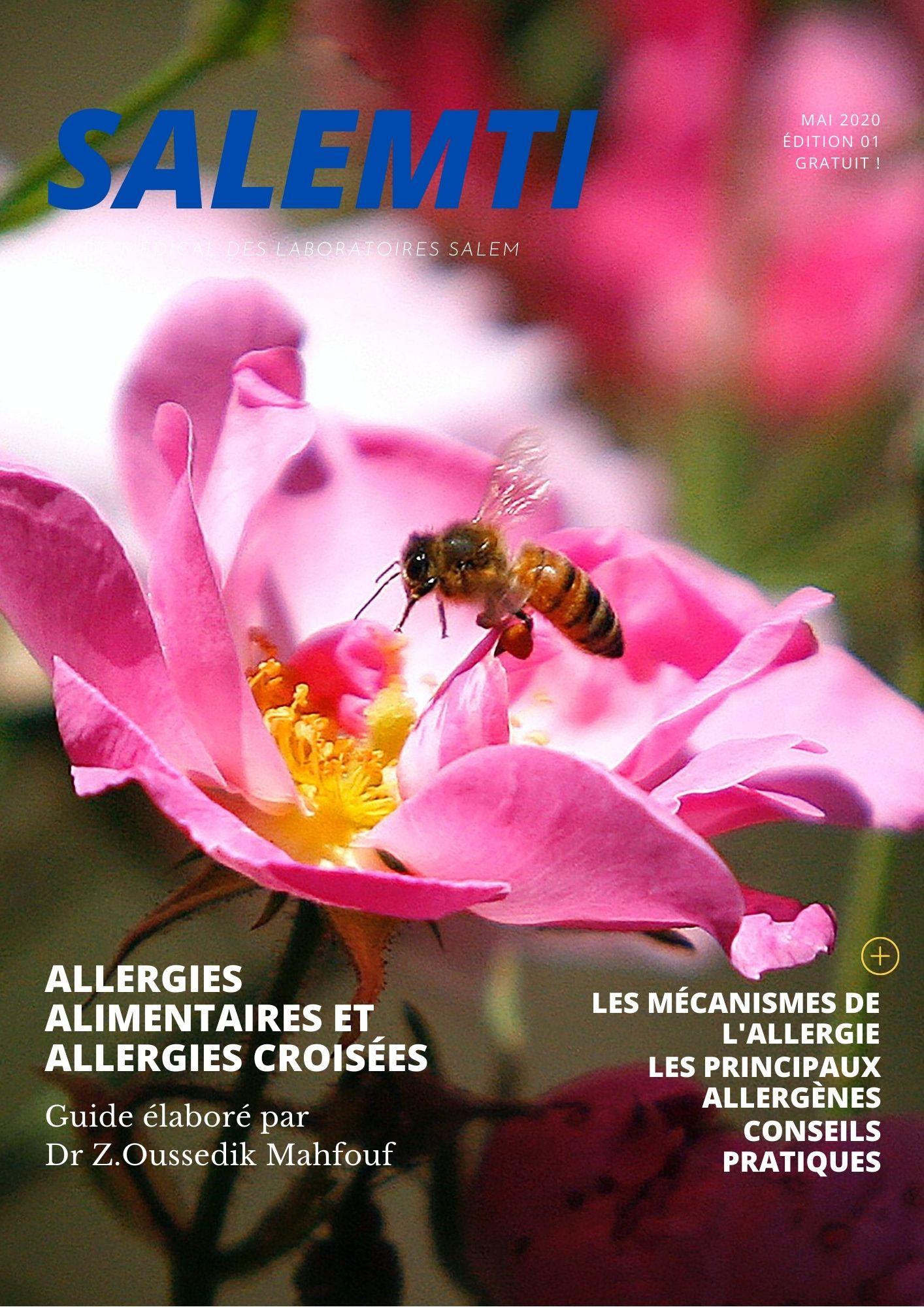 allergie, allergies alimentaires, intoxication, guide, guide santé, guide laboratoires salem, guide labosalem,guide salemti