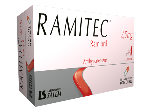 ramitec, ramitec 2,5 mg, labosalem, laboratories salem, médicament
