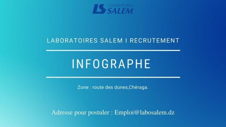 Recrutement «Infographe»