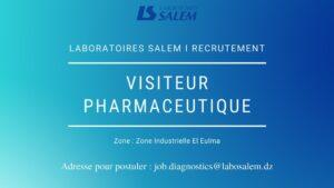 offre d'emploi visiteur pharmaceutique,labosalem emploi,emploi,khedma