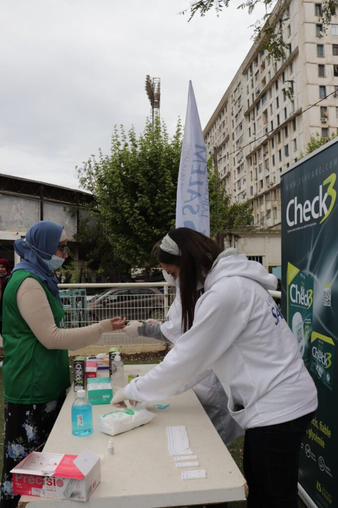 ramadan labosalem,diabete,campagne de sensibilisation, food bank et labosalem, laboratoires SALEM, foodbank