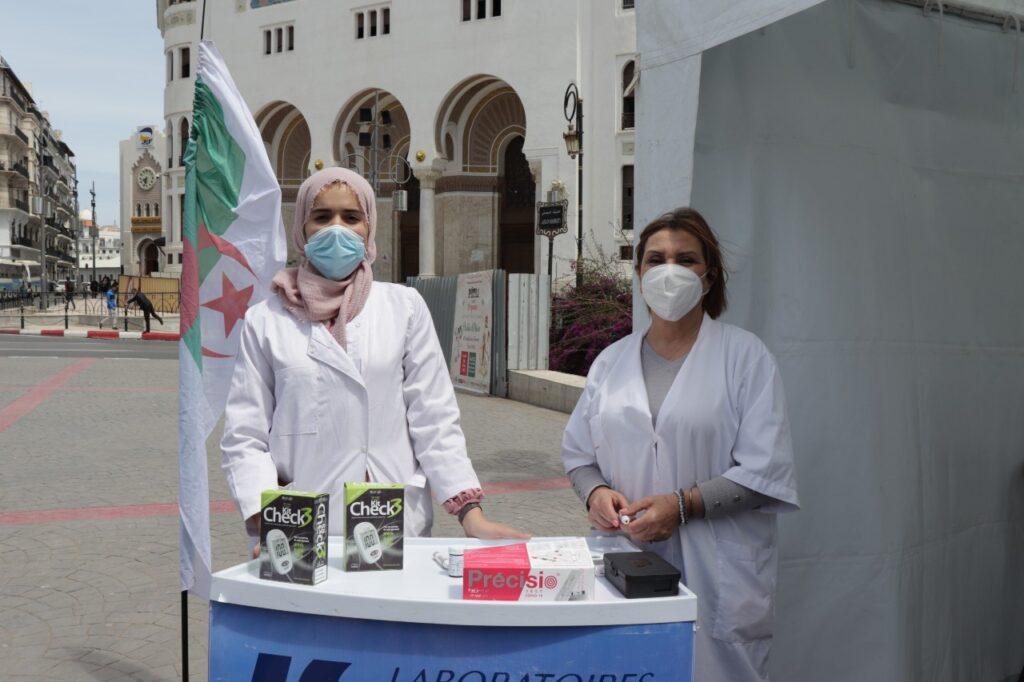 ramadan labosalem,diabete,campagne de sensibilisation, campagne de dépistage, laboratoires SALEM, diabete