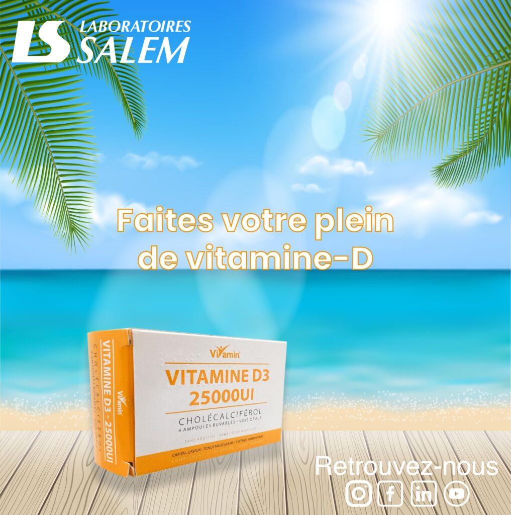 vitamine d, aliment riche en vtamine d, labosalem, vitamine d labosalem, vitamine ampoul, vitamine complement alimentaire