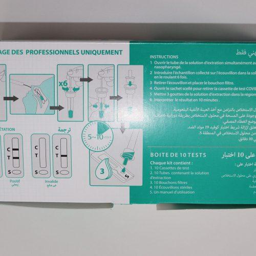 laboratoires salem, covid19, test antigénique, Précisio, coronavirus, tests antigénique, pcr, covid dz, covid algérie
